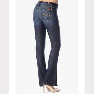 7 For All Mankind Kaylie Jeans Hemmed Bootcut Dark